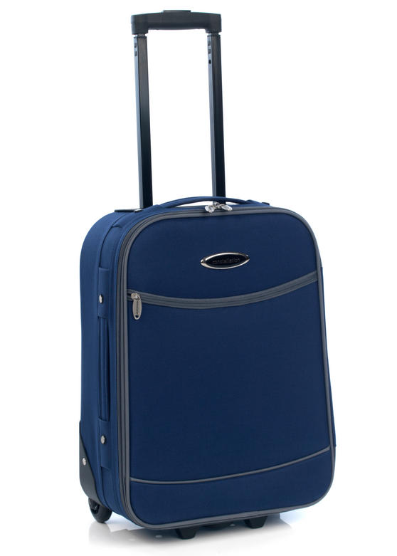"Constellation Eva Suitcase, 18"", Navy/Grey"