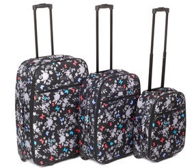 Constellation Spring Paradise Suitcase Set, 18, 22 & 26""