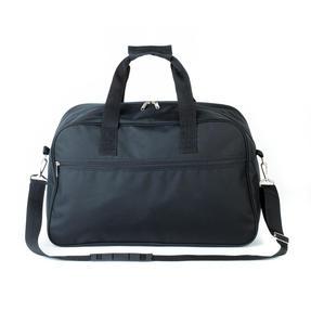 Constellation LG00412BLKSAMIL Rome Flight Bag, Black