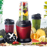 Salter Red 1000 Watt NutriPro Blender And Accessory Pack