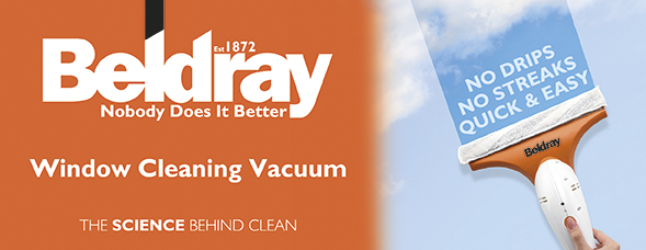 Beldray Cordless Window Vacuum Cleaner