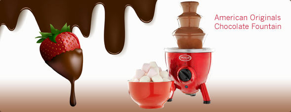 Amercian Originals Chocolate Fountain