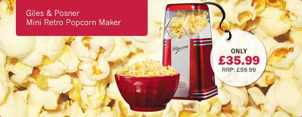 Giles and Posner Mini Retro Popcorn Maker