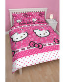 Character World Hello Kitty Sommer Wind Double Rotary Duvet Set HELSOMDD002