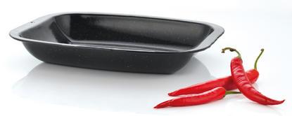 Russell Hobbs Vitreous Enamel 26cm Black Mini Roasting Tin CW11481 Thumbnail 1