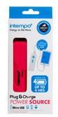 Intempo EG0246 Pink 1800mAh Power Bank Charger Thumbnail 3