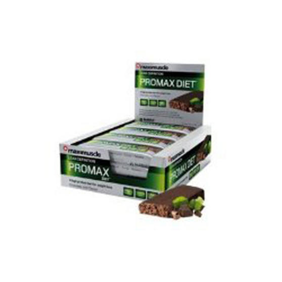 Maximuscle Diet Chocolate Promax Bars - Box Of 12 x 60g