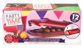 Party Time EK2069 Red 180° Flip Over Cake Pop Maker Thumbnail 1