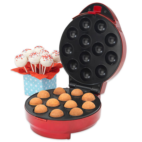American Originals Cake Pop Maker with FREE Babycakes Big Book Cakepop Recipe Book