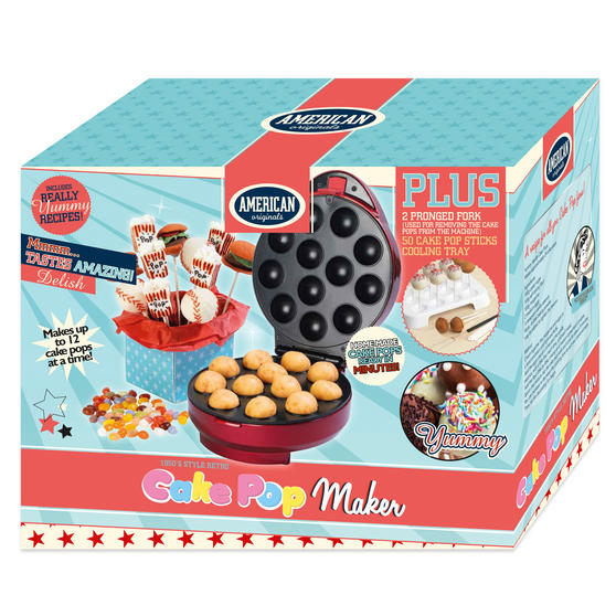 Recipe For Cake Pop Maker Uk
