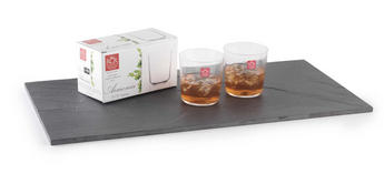 RCR Armonia Set Of 2 Short Tumblers Luxion Glass 35cl 252330