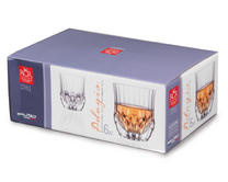 RCR Luxion Crystal Adagio 35cl Whiskey Glasses Set Of 6 25745020006