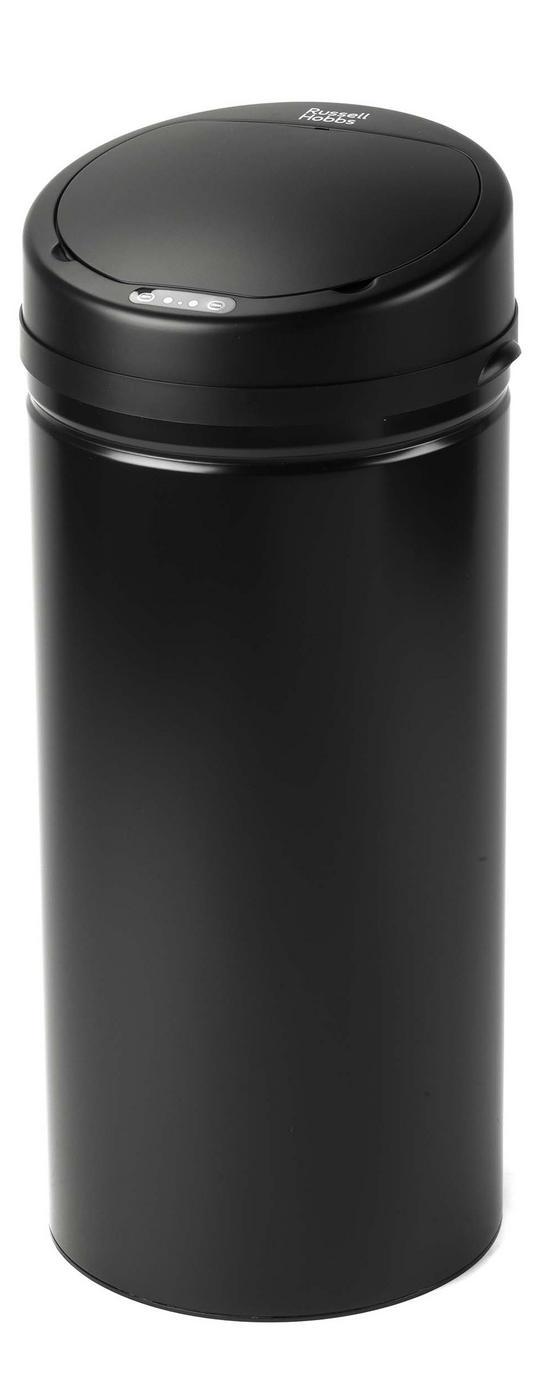 Russell Hobbs BW04610 Round 40 Litre Black Sensor Bin