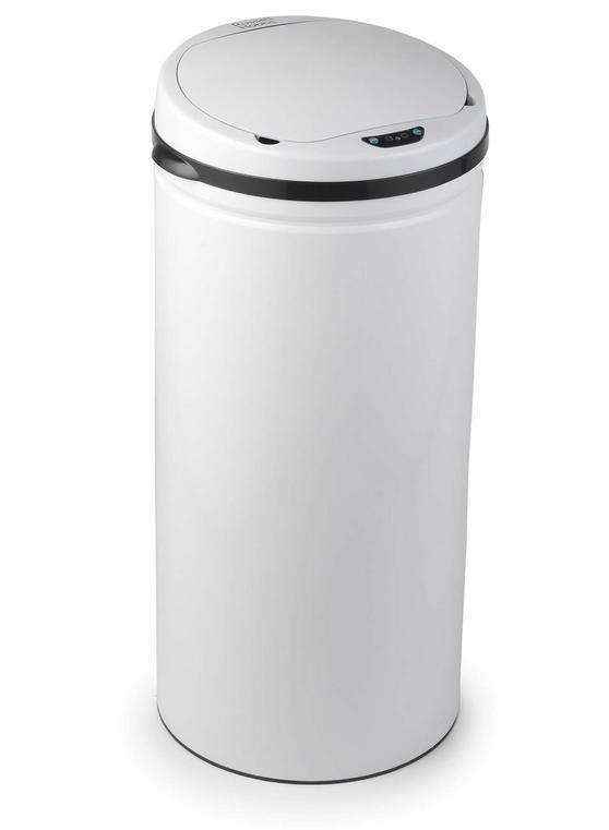 Russell Hobbs BW04610 Round 40 Litre White Sensor Bin