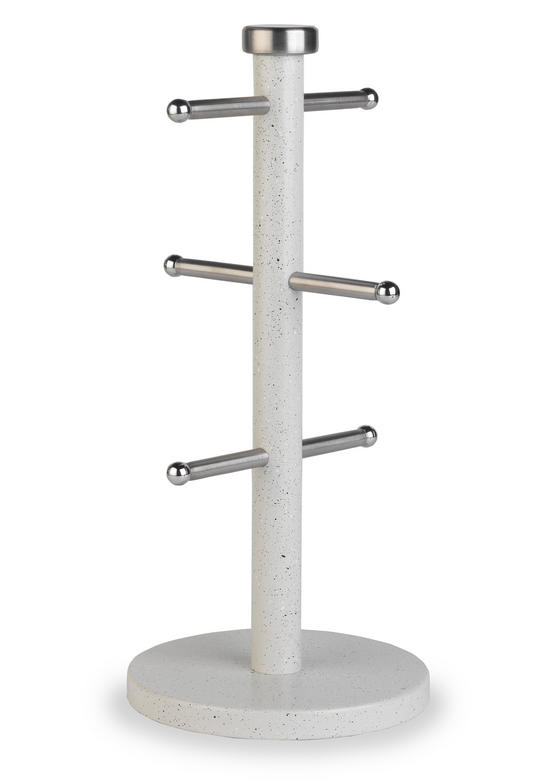 Salter Bw04532 White Marble Mug Tree Kitchen No1brands4you
