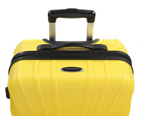 "Constellation Arc ABS Suitcase, 18"", Yellow Thumbnail 2"