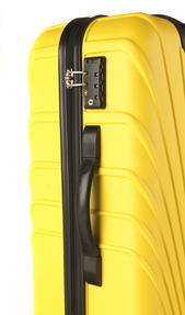 "Constellation Arc ABS Suitcase, 18"", Yellow Thumbnail 3"