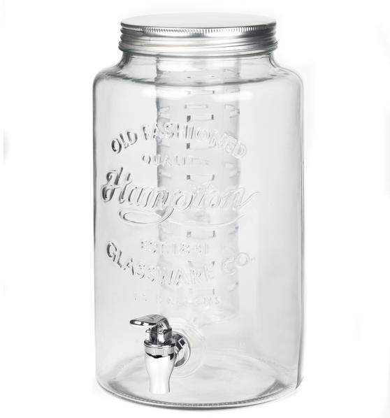 Giles & Posner BW04389 6 Litre Glass Dispenser With Infuser