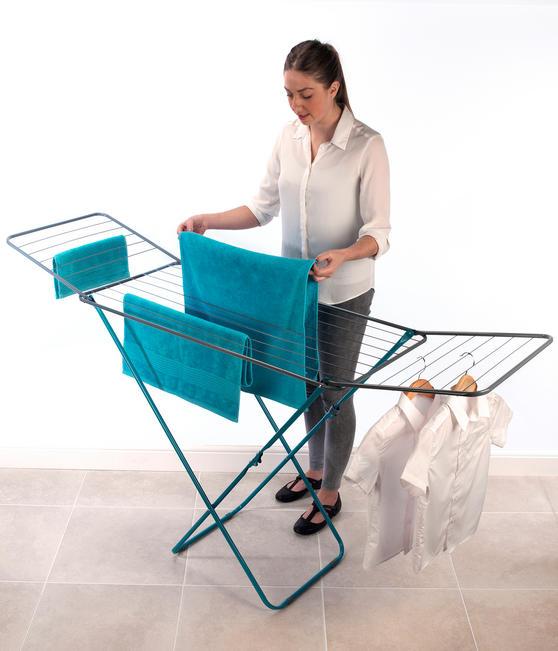 Beldray LA023810TQ Turquoise 18 Metre Clothes Airer Thumbnail 2