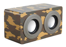 Intempo EE0996SCAM Camouflage Wooden Mini Blaster Thumbnail 2