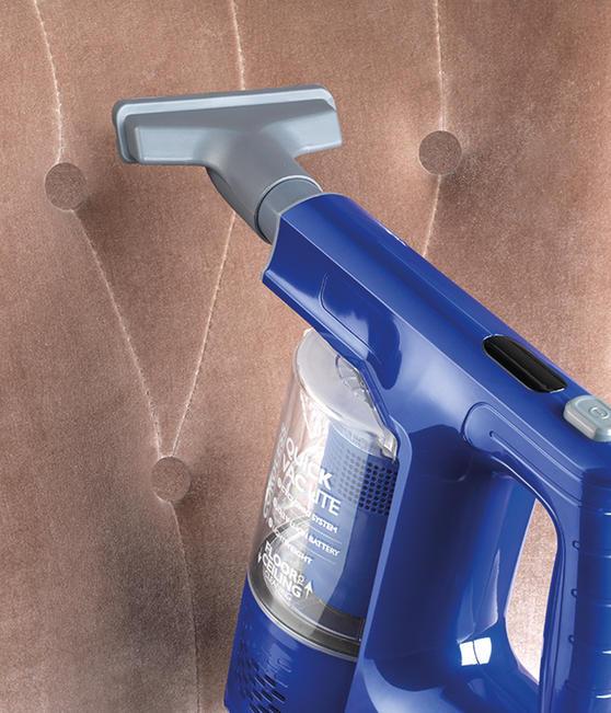Beldray 22.2 V Cordless Quick Vac Lite, Blue Thumbnail 4