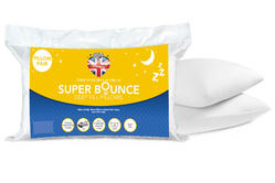 Dreamtime MF02698UP Super Bounce Hollow Fibre Pillows, Twin Pack, White