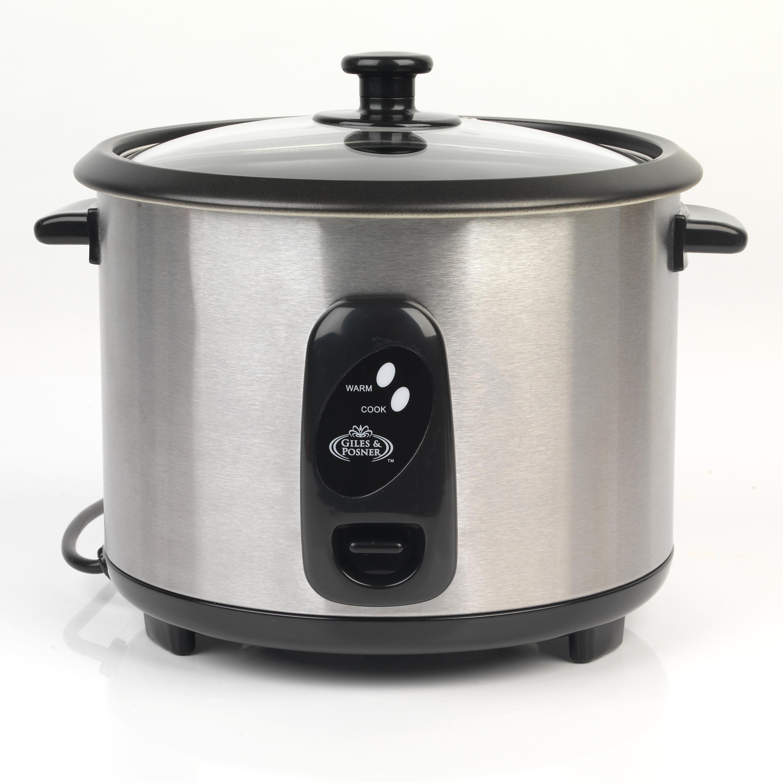 Salter 1 8 litre stainless steel rice cooker multi for Multi cooker