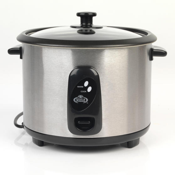 Salter 1.8 Litre Stainless Steel Rice Cooker