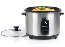 Salter 1.8 Litre Stainless Steel Rice Cooker Thumbnail 2