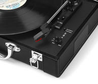 Intempo Black Executive Valise Rechargeable Audio Turntable Thumbnail 3