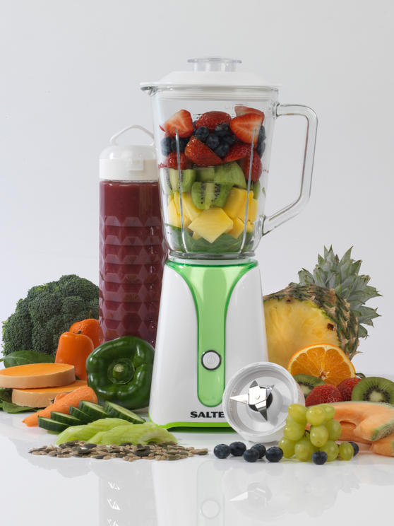 Salter EK2228 2 in 1 Blender To Go All In One Personal Glass Jug Blender