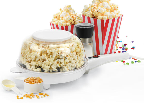 Giles & Posner Popcorn Maker with Bowl