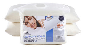 Dreamtime MFDT95914 Memory Foam Twin Pack Pillows