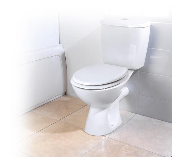Beldray LA033758 Tongue and Groove Toilet Seat Thumbnail 1