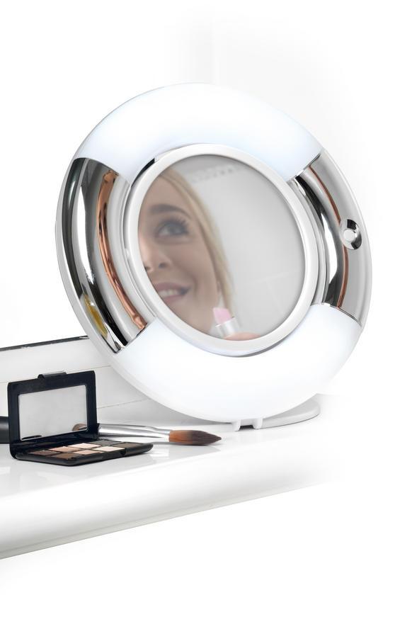 Beldray LA036094 Double-Sided LED Vanity Mirror Thumbnail 2