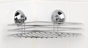 Beldray LA036155 Corner Suction Shower Basket Thumbnail 1
