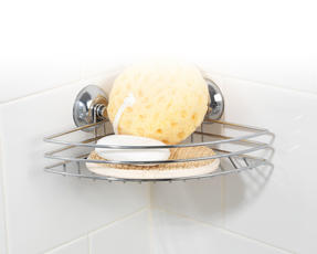 Beldray LA036155 Corner Suction Shower Basket Thumbnail 2