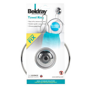 Beldray LA036216 Suction Towel Ring Thumbnail 3