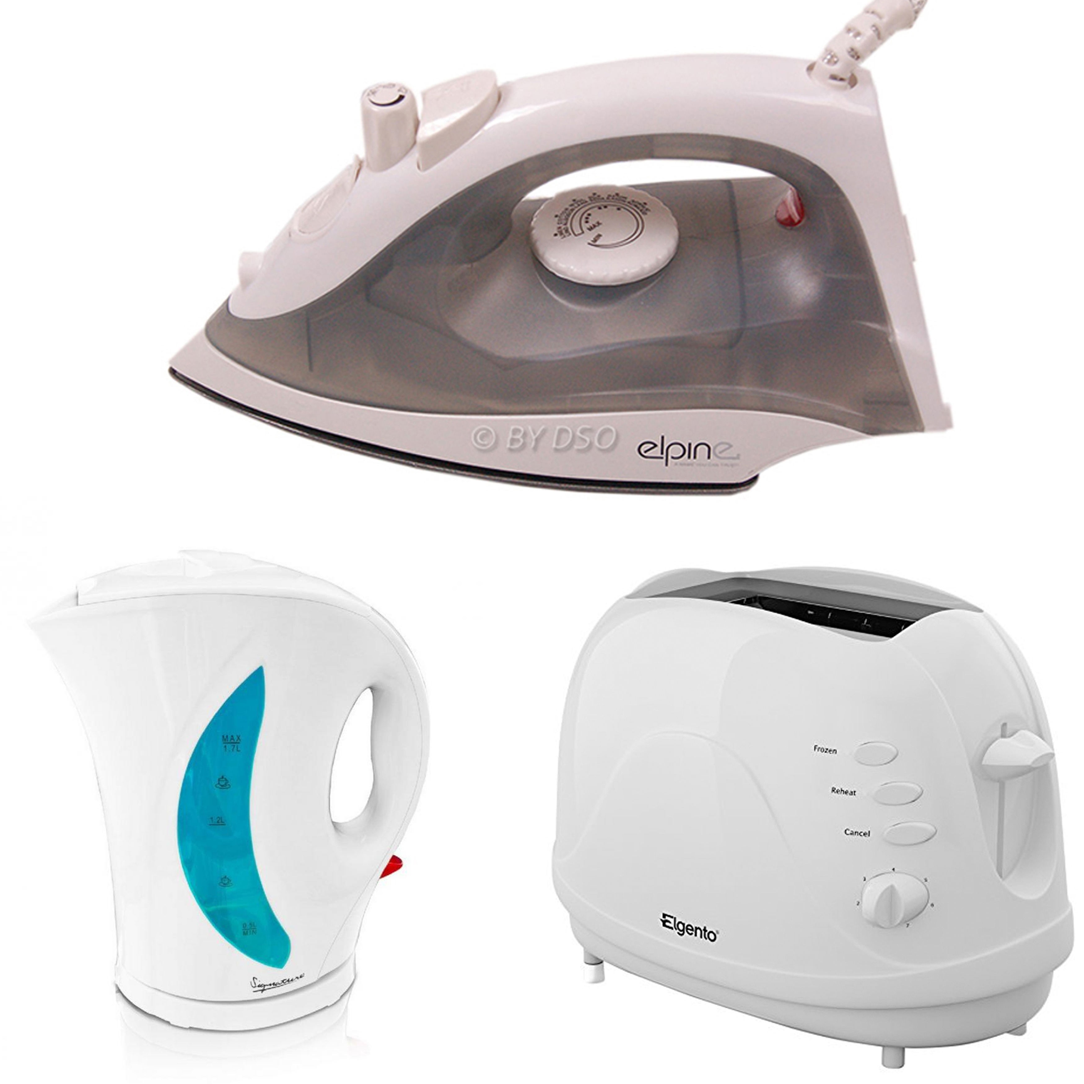 Student essential basic kitchen and home appliance set ebay for Essential appliances for a new home