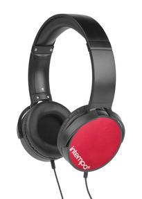 Intempo EE1264RED Red Dynamic Over-Ear Headphones