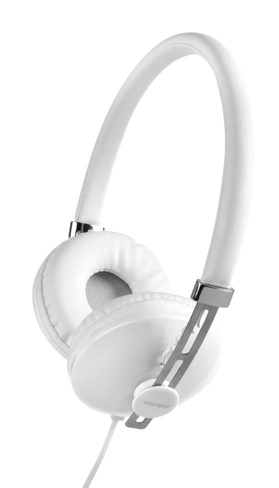 Intempo White Hubbub Headphones Headphones Intempo