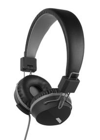 Intempo EE1081BG Black and Grey Attis Over-Ear Headphones Thumbnail 1