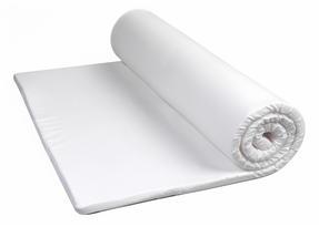 HoMedics MFHE04135TES Everyday Mattress Topper, King Size, White