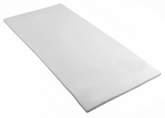 Homedics MFHE04098TES Everyday Mattress Topper, Single, White