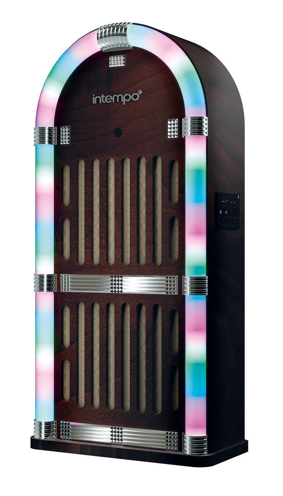 Intempo Brown Bluetooth Jukebox