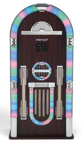 Intempo EE1079 Brown Extra Large Bluetooth Jukebox Thumbnail 1