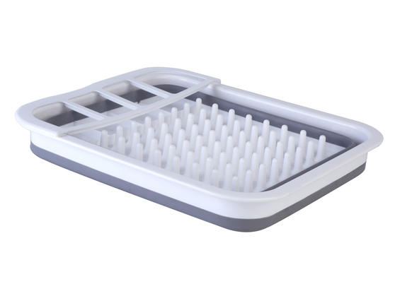 Beldray Grey Collapsible Dish Draining Board Thumbnail 1
