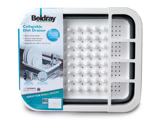Beldray Grey Collapsible Dish Draining Board Thumbnail 4