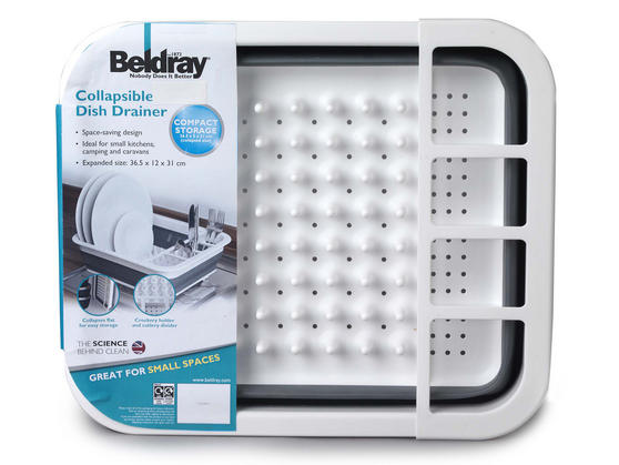 Beldray Grey Collapsible Dish Draining Board Thumbnail 7