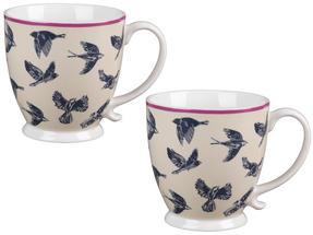Cambridge CM03619 Kensington Avairy Fine China Mug Set of 2 Thumbnail 1